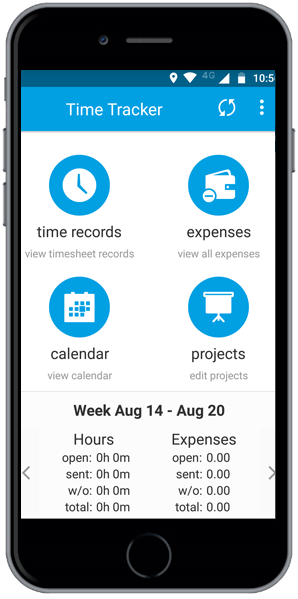 Time and Expenses Tracking