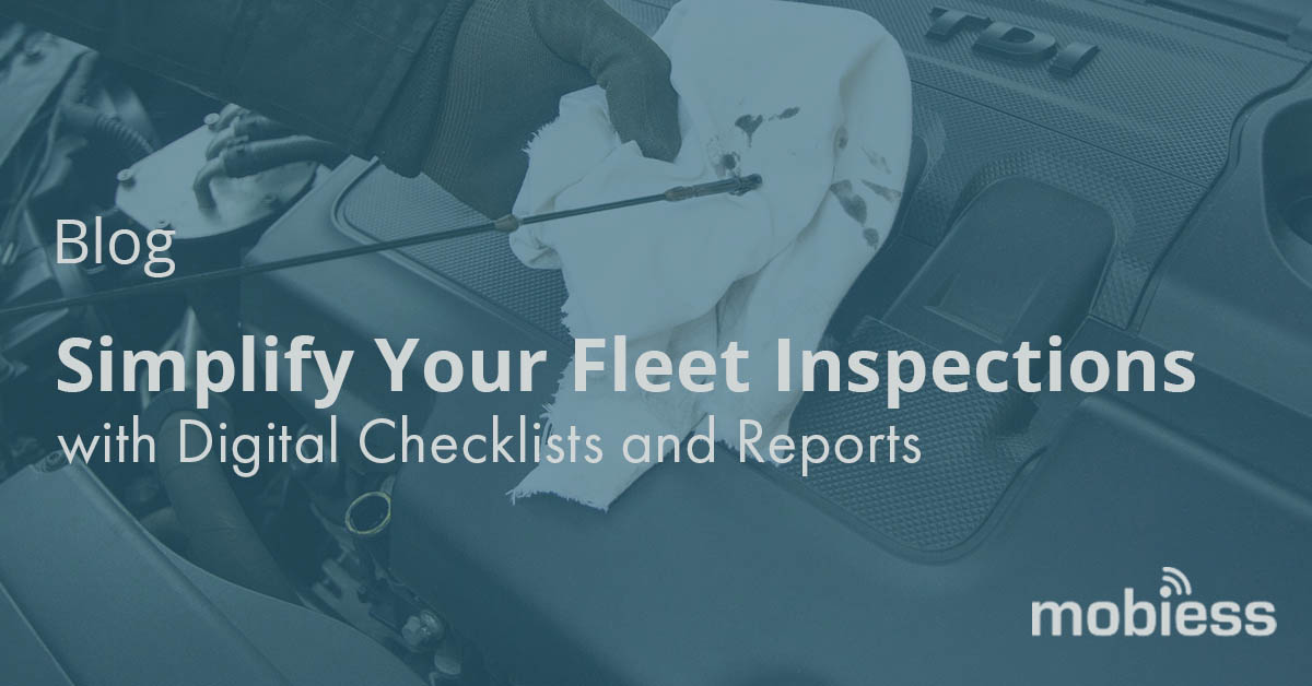 Simplify your vehicle inspections