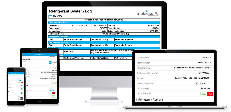 Refrigerant system log